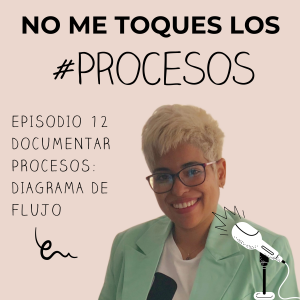 Episodio 12 Documentar procesos. Diagrama de flujo.